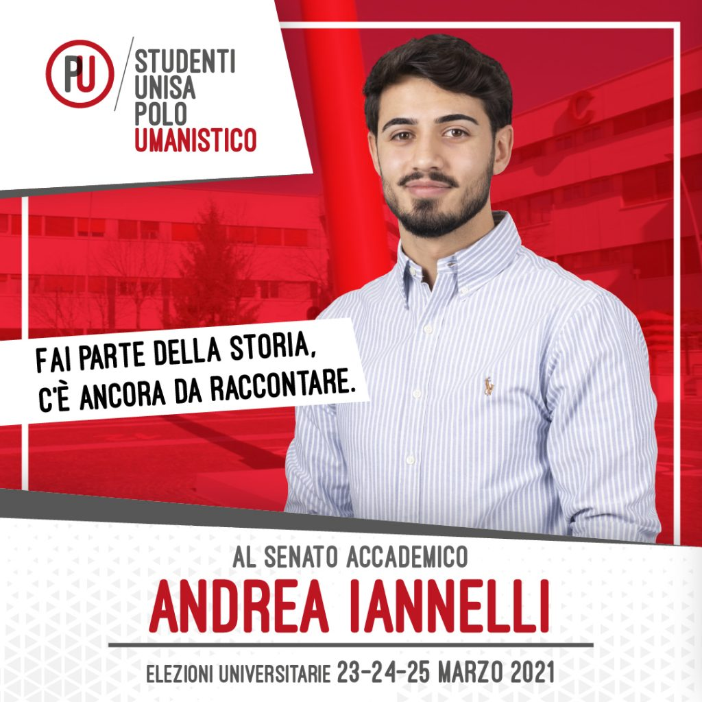 andrea iannelli - studenti unisa polo umanistico